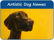 Artistic Dog Names