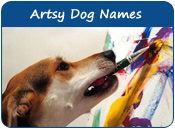 Artsy Dog Names