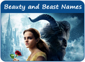 Beauty and the Beast Dog Names