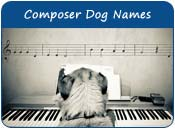 Composer Dog Names