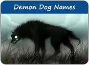 Demon Dog Names