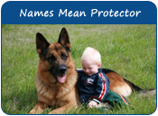 Dog Names With Meaning Protector
