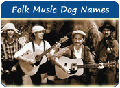 Folk Music Dog Names