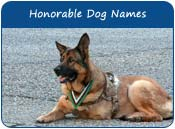Honorable Dog Names