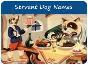 Servant Dog Names