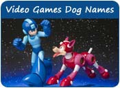 Video Games Dog Names